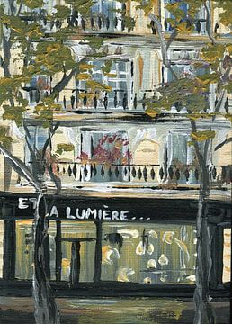Pariser Geschäft von sarah Loecker