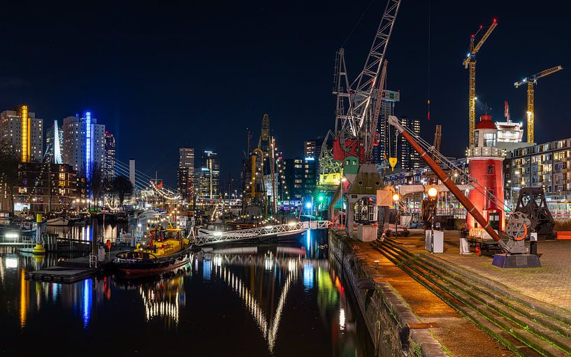 Maritiem district Rotterdam van Jeroen Kleiberg