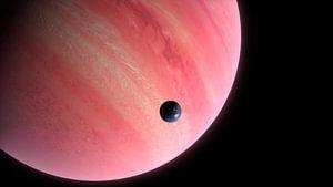Bewoonbare maan bij een gasplaneet