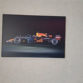 Kundenfoto: Max Verstappen - F1 RedBull Racing Formel 1 von Kevin Baarda, auf leinwand