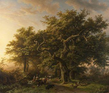 Bosgezicht, Barend Cornelis Koekkoek van