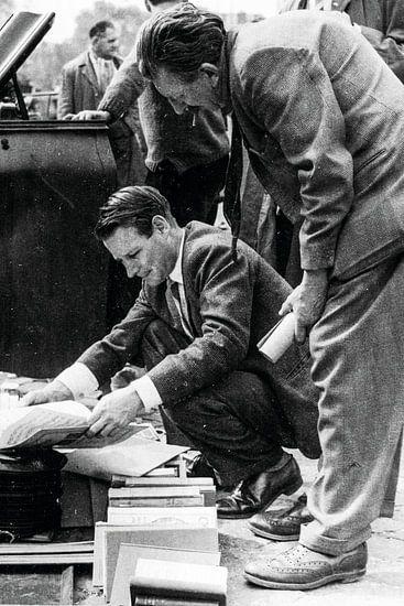 Mannen op het Waterlooplein 60-er jaren
