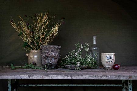 Groen lente stilleven van Affect Fotografie