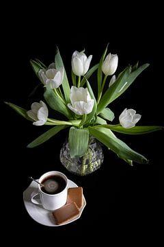 Zeit für Gemütlichkeit bei einer Tasse Kaffee von Jefra Creations