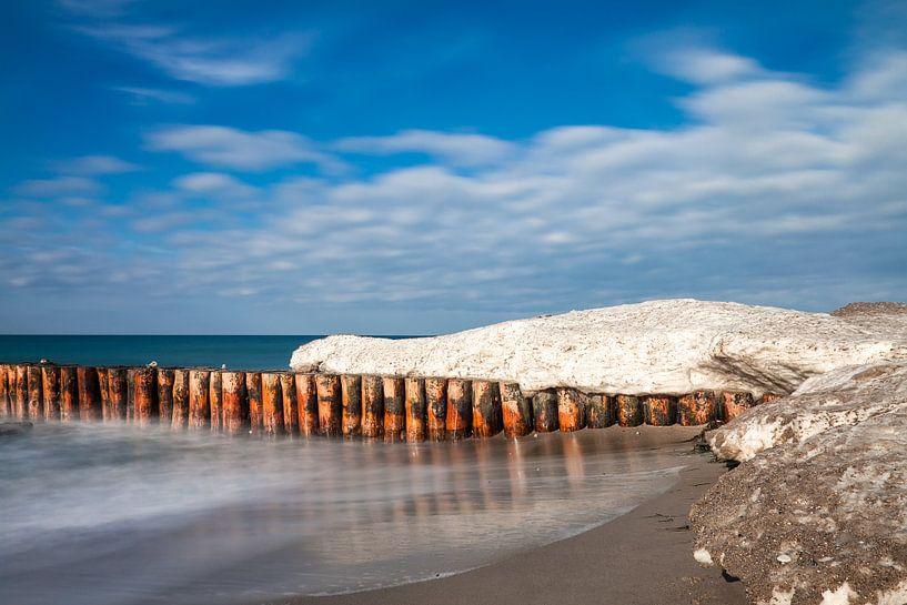 Winter an der Küste der Ostsee von Rico Ködder