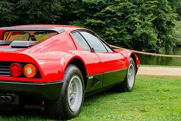 Ferrari 512 BB of Ferrari Berlinetta Boxer Italiaanse sportwagen van Sjoerd van der Wal