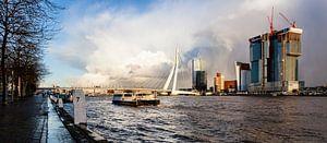 De Rotterdam in aanbouw von