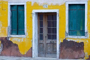 Das gelbe Haus auf Burano von Andreas Müller
