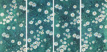 Bett der Margeriten, Gustave Caillebotte