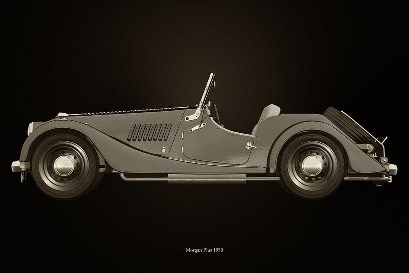 Morgan Plus 1950 van Jan Keteleer