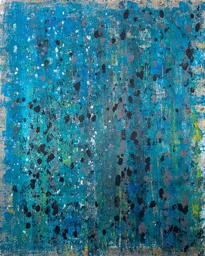 'abstrakt blau', Jan Fritz von Jan Fritz