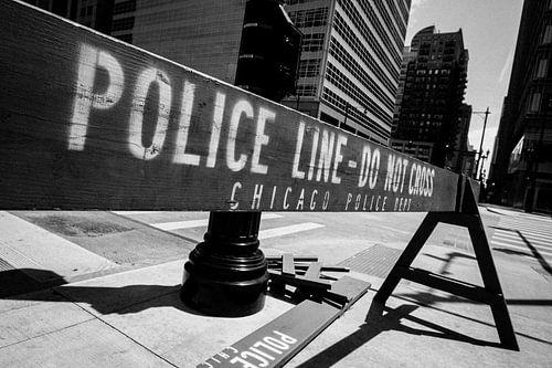 Police line - Do Not Cross! van Maarten De Wispelaere