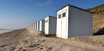 Strandhuisjes Texel van Ronald Timmer