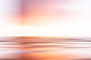Avondrood boven zee voor de Scheveningse kust van MICHEL WETTSTEIN