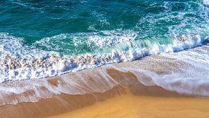 Golven en stranden langs de Portugese kust van Jessica Lokker