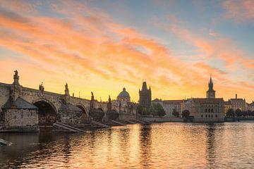 Lever de soleil à Prague