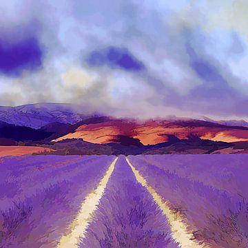Lavendel sur Andreas Wemmje