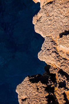 Azuurblauwe zee | Hawaï van Teuntje Fleur