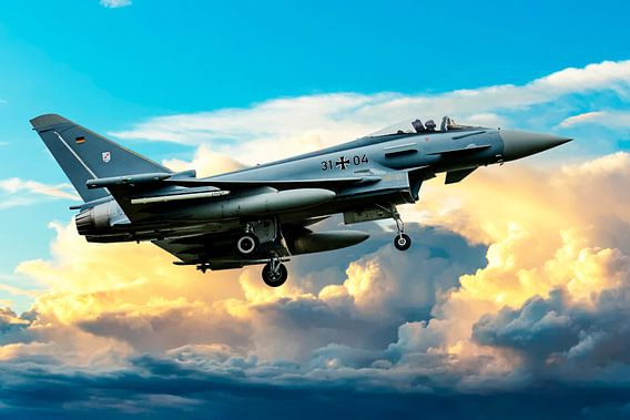 Eurofighter Typhoon 1 van Gert Hilbink