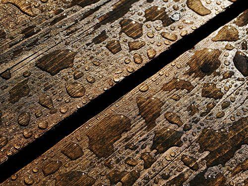 Planke und Wasser von