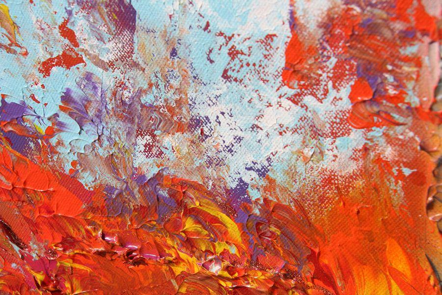 Burning sky detail 10 van Toekie -Art