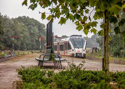 Veoliatrein op Station Simpelveld