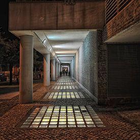 straatbeeld van Lissabon. van Tilly Meijer