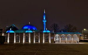 Eindhoven, Faith moskee met het blauwe dak van