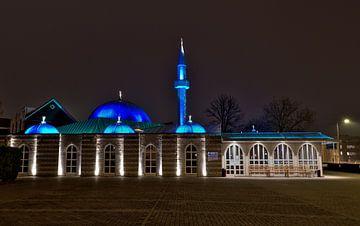 Eindhoven, Faith moskee met het blauwe dak van Miranda Lodder