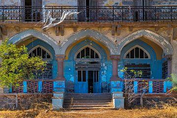 Oude Griekse deuren en ramen van Rinus Lasschuyt Fotografie