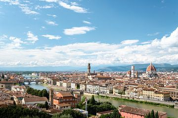 Florence in Toscane Italië van Jelmer Laernoes