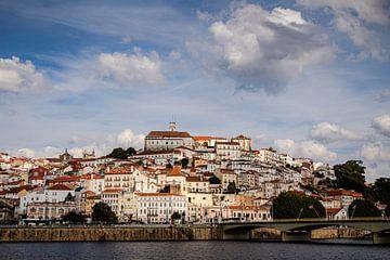 Blick über Coimbra, Portugal von Daan Duvillier