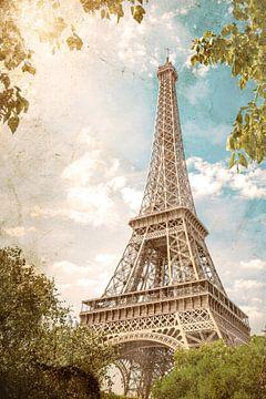 Eiffeltoren van Günter Albers