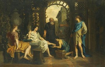 Abraham empfängt Engel, Gerard de Lairesse