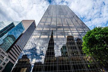 Réflexion de Patricks Cathedral, New York City sur Eddy Westdijk