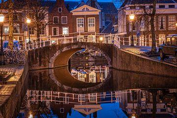 Leiden in Lockdown: Rapenburg von Carla Matthee
