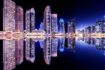 Jachthaven van Dubai van Manjik Pictures