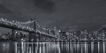 New York Skyline - Queensboro Bridge (3) von Tux Photography