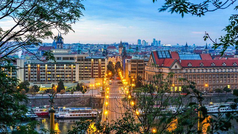 Doorkijkje naar Praag  van Arjan Schalken