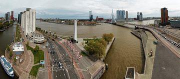 Manhattan aan de Maas Rotterdam sur Rob van der Teen