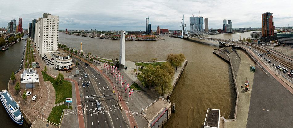 Manhattan aan de Maas Rotterdam