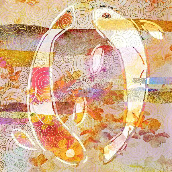 Yin-Yang-Koi von Jacky Gerritsen