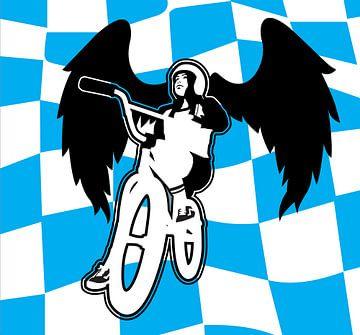 BMX Angel van