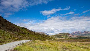 Schottische Straße auf Skye von Freddy Hoevers