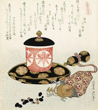 Paarden geld, Katsushika Hokusai
