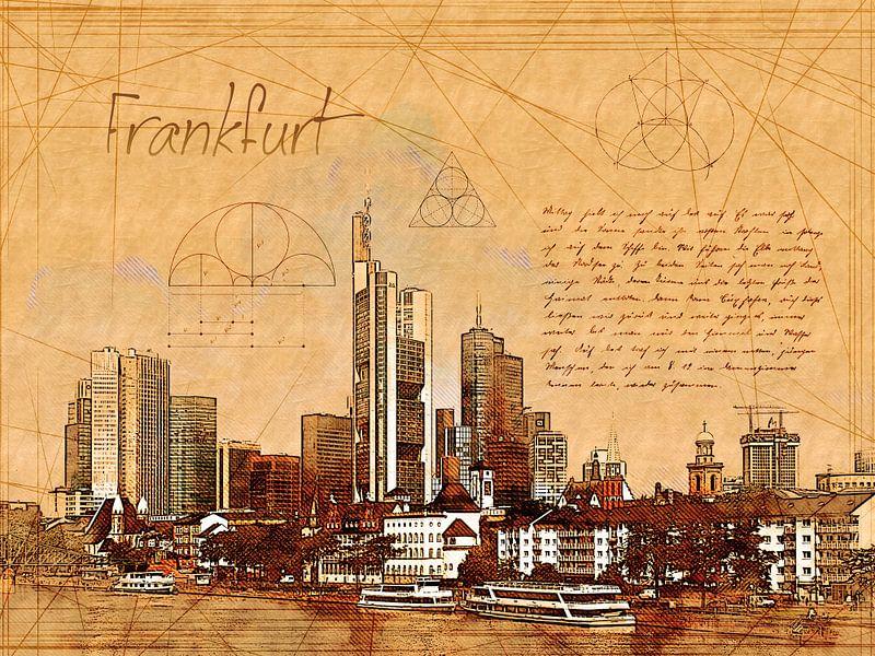 Frankfurt van Printed Artings