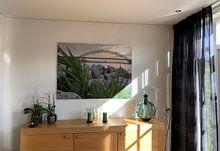 Kundenfoto: Mooie foto van de Waalbrug in Nijmegen von Jeroen Schuijffel, auf alu-dibond