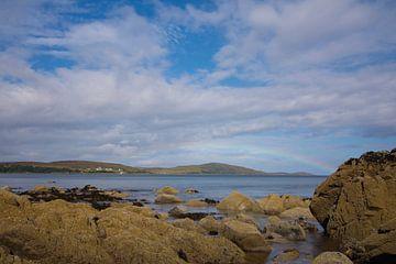 Regenbogen über Schottland von Wendy Drent