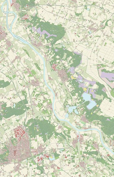 Kaart vanBergen