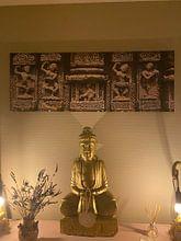 Photo de nos clients: Travail privé pour le temple du soleil des danseurs 100x50cm 2 sur Affect Fotografie, sur toile